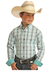 Boy's Panhandle Button Down Shirt #C0D9042