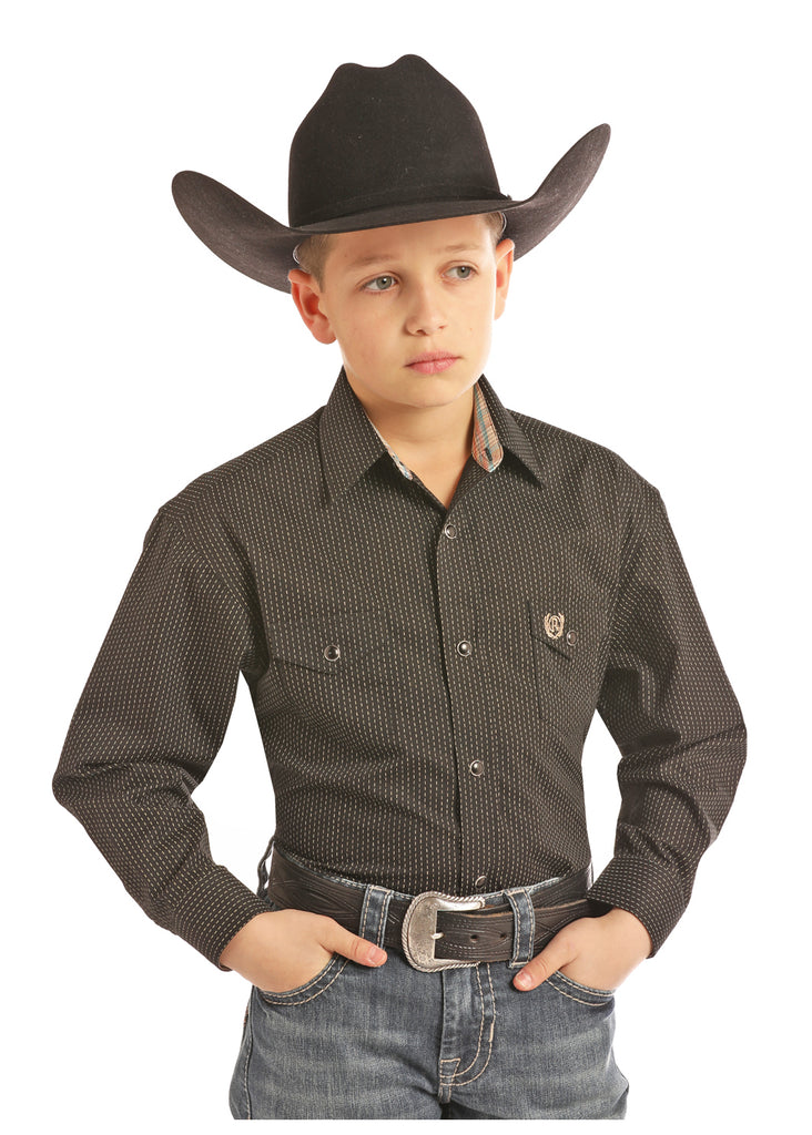 Boy's Panhandle Snap Front Shirt #C0S2212
