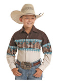 Boy's Panhandle Snap Front Shirt #C0S5047