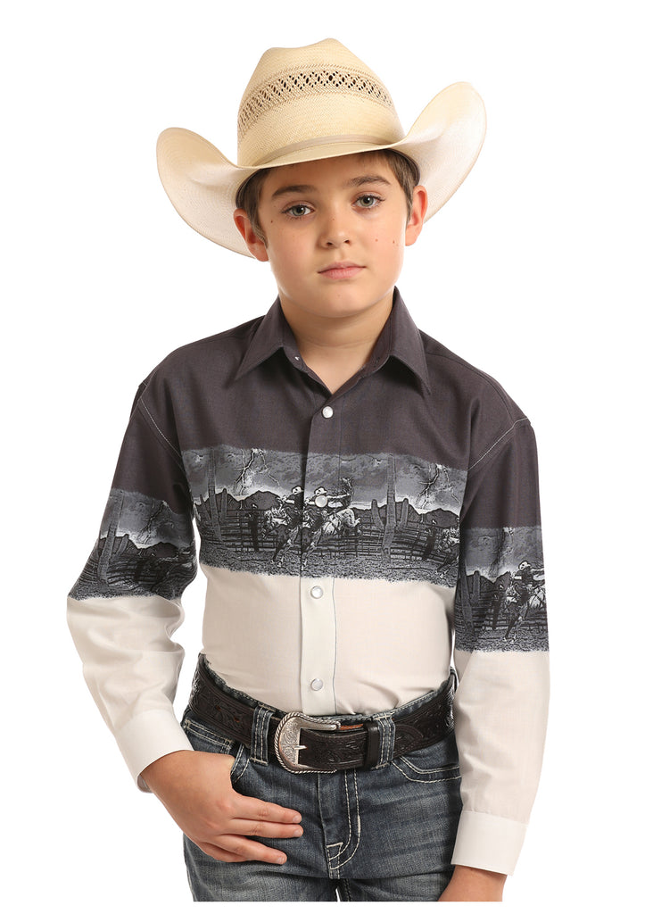 Boy's Panhandle Snap Front Shirt #C0S6547