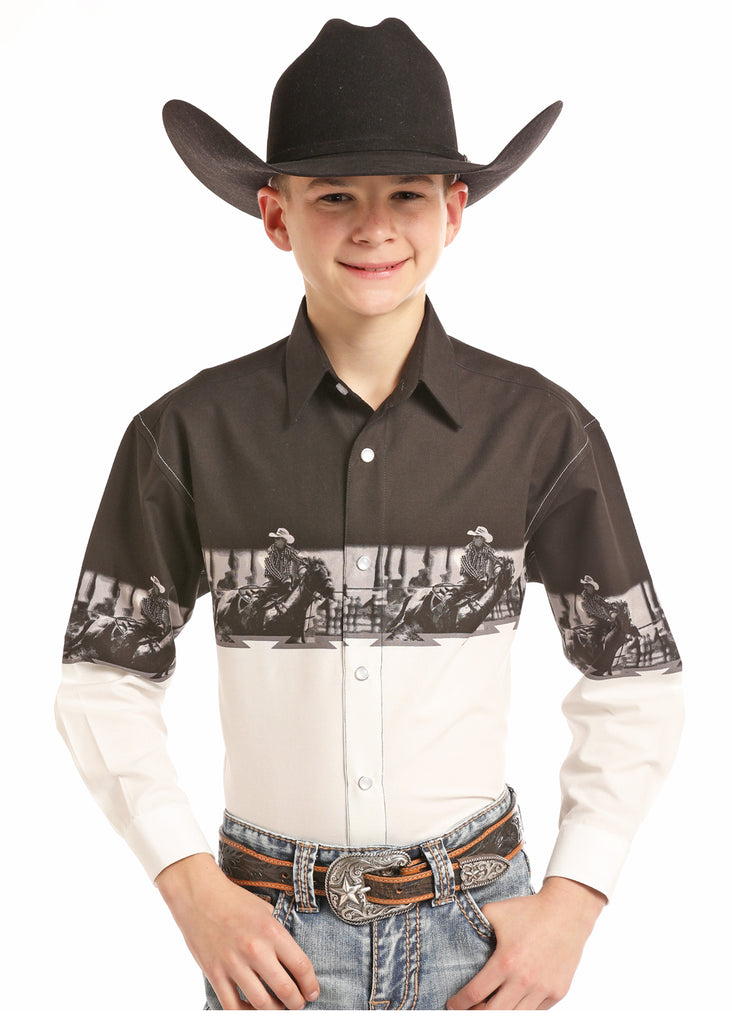 Boy's Panhandle Snap Front Shirt #C0S8519