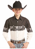 Boy's Panhandle Snap Front Shirt #C0S8519-C