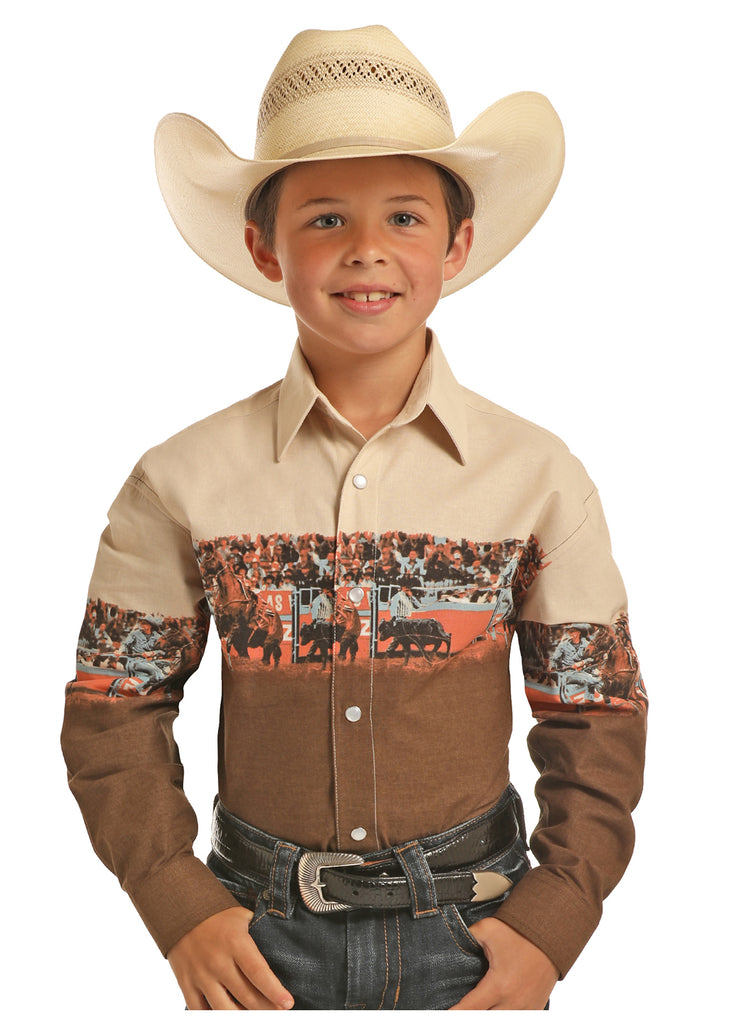 Boy's Panhandle Snap Front Shirt #C0S9031