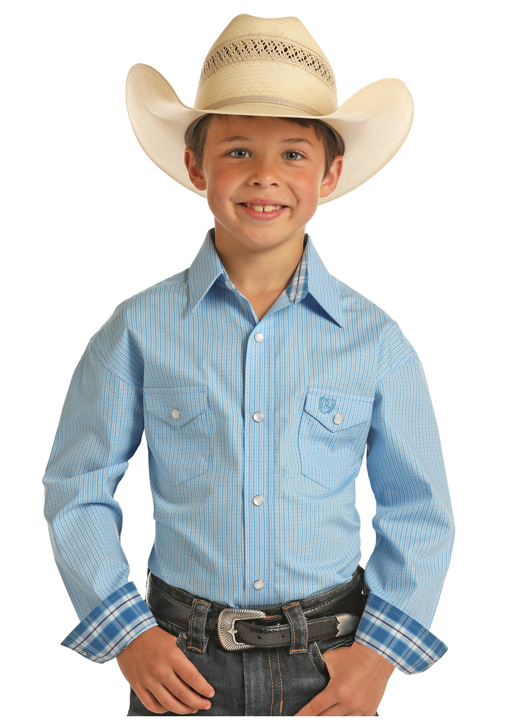 Boy's Panhandle Snap Front Shirt #C0S9050-C