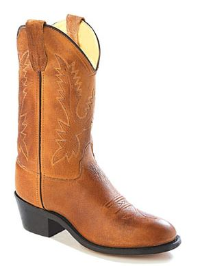 Youth's Old West Western Boot #CCY1129 (3.5Y-7Y)
