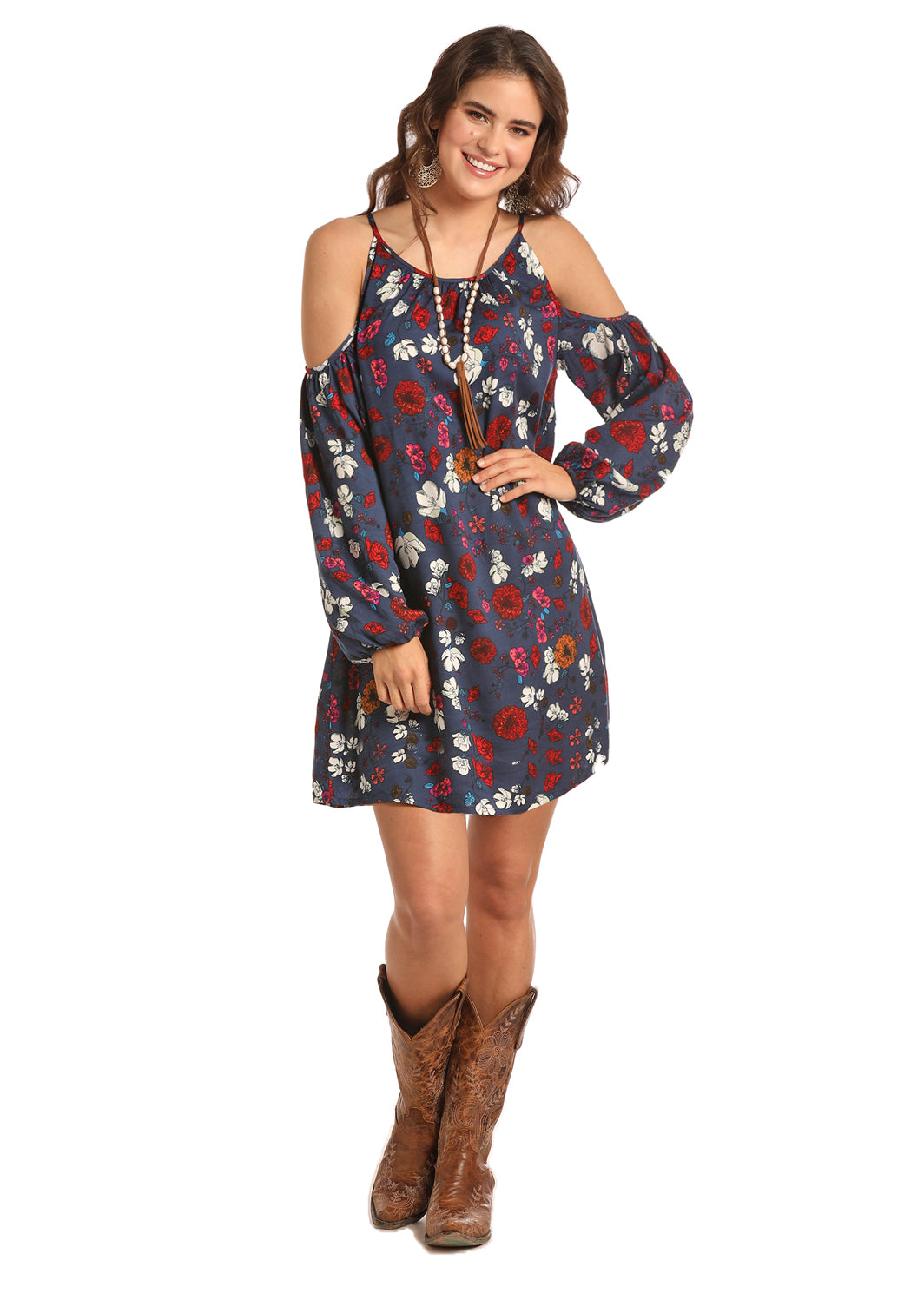 Women's Rock & Roll Cowgirl Dress #D4-8582