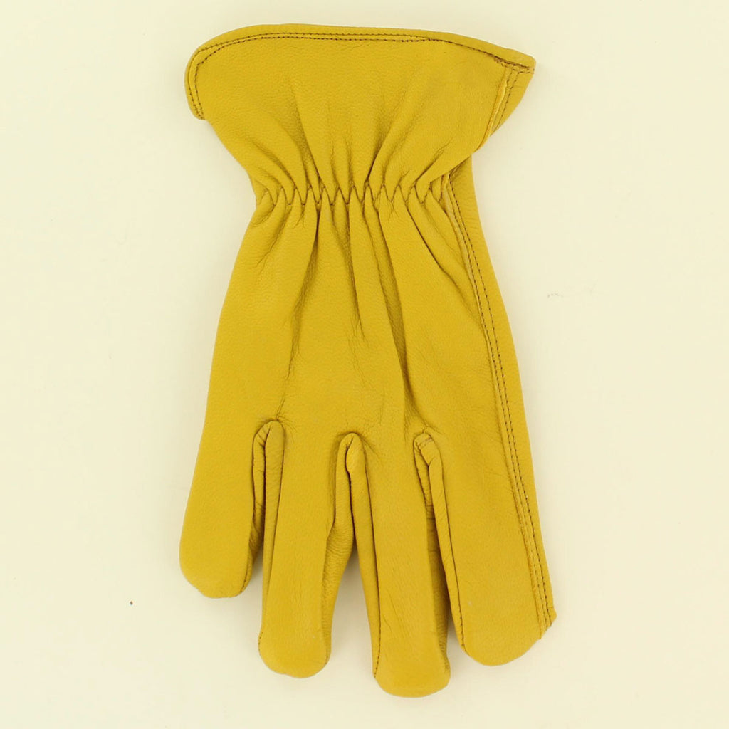 Adult 3D Goatskin Leather Work Gloves #DGL02