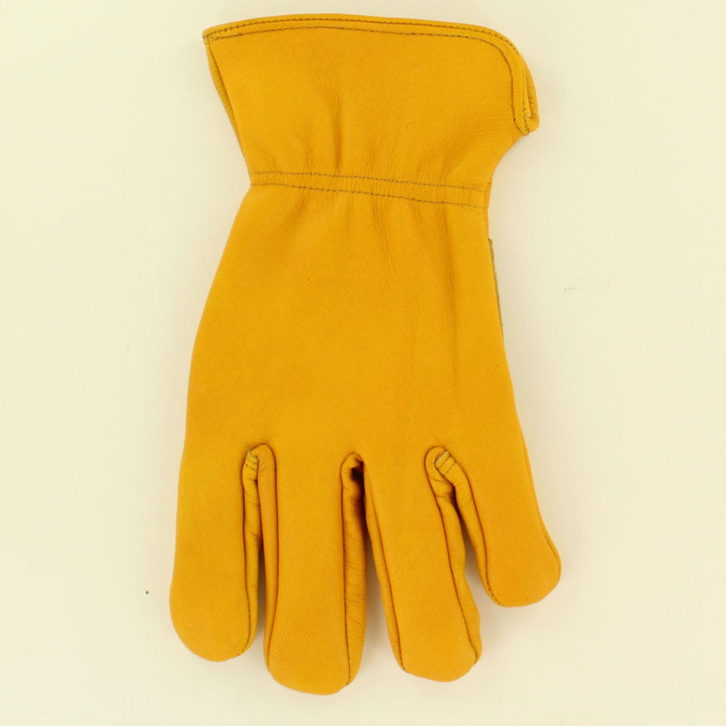 Adult 3D Goatskin Leather Work Gloves #DGL06