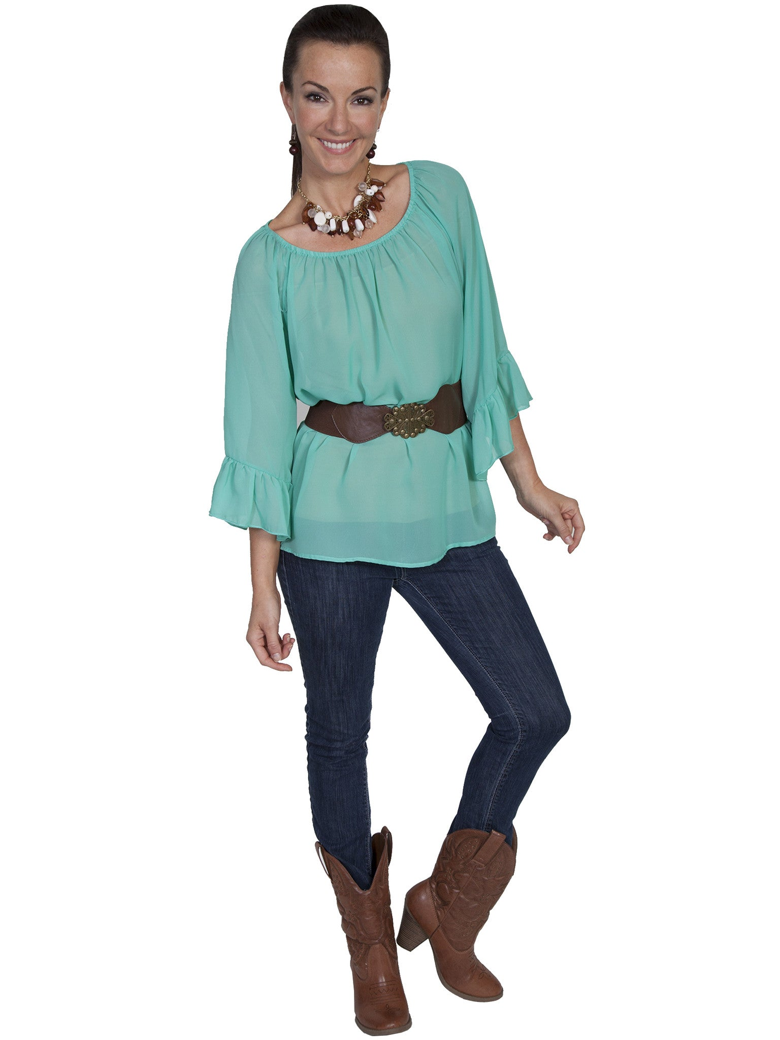 Women's Scully Limited Edition Blouse #E118MIN-C
