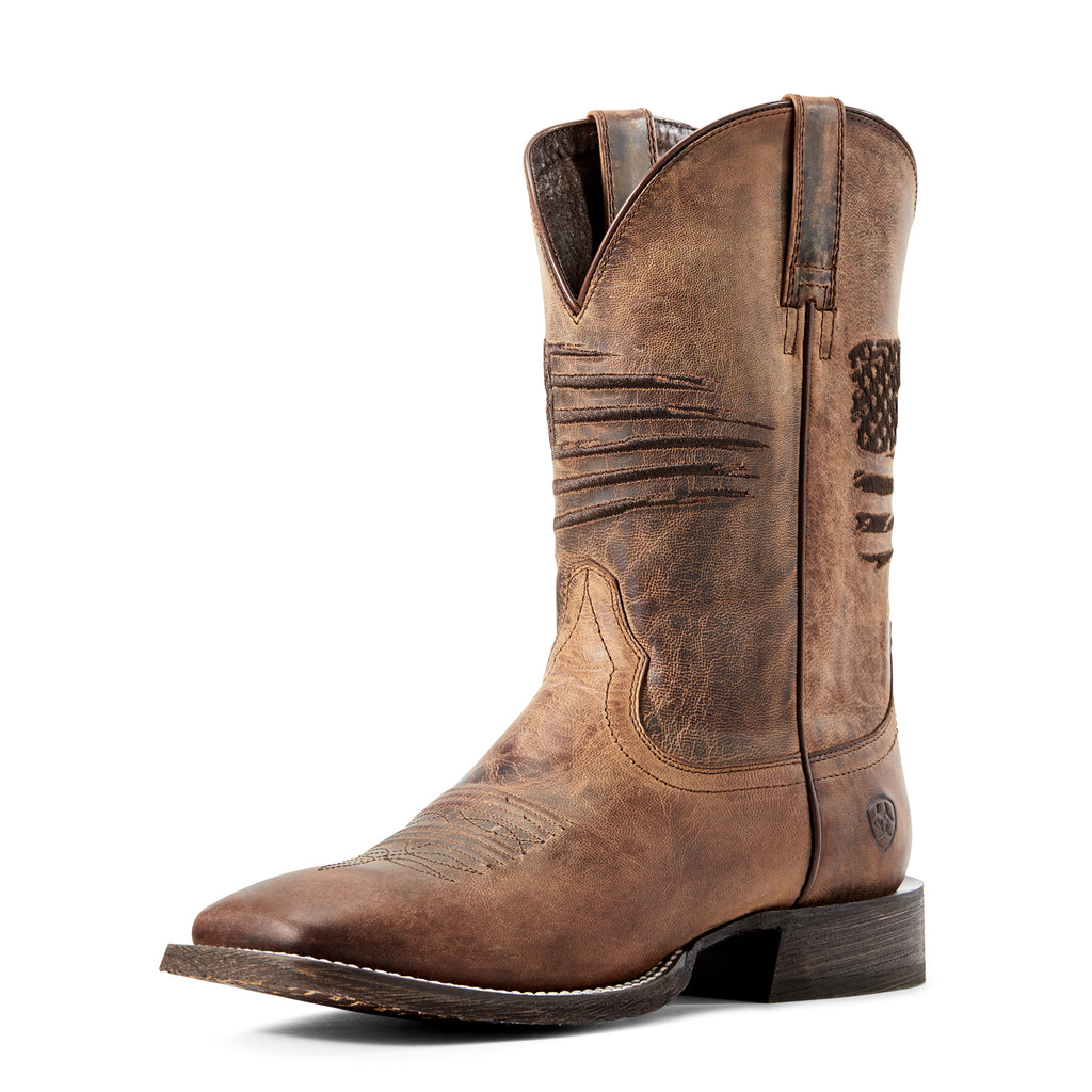 Men's Ariat Circuit Patriot Western Boot #10029699