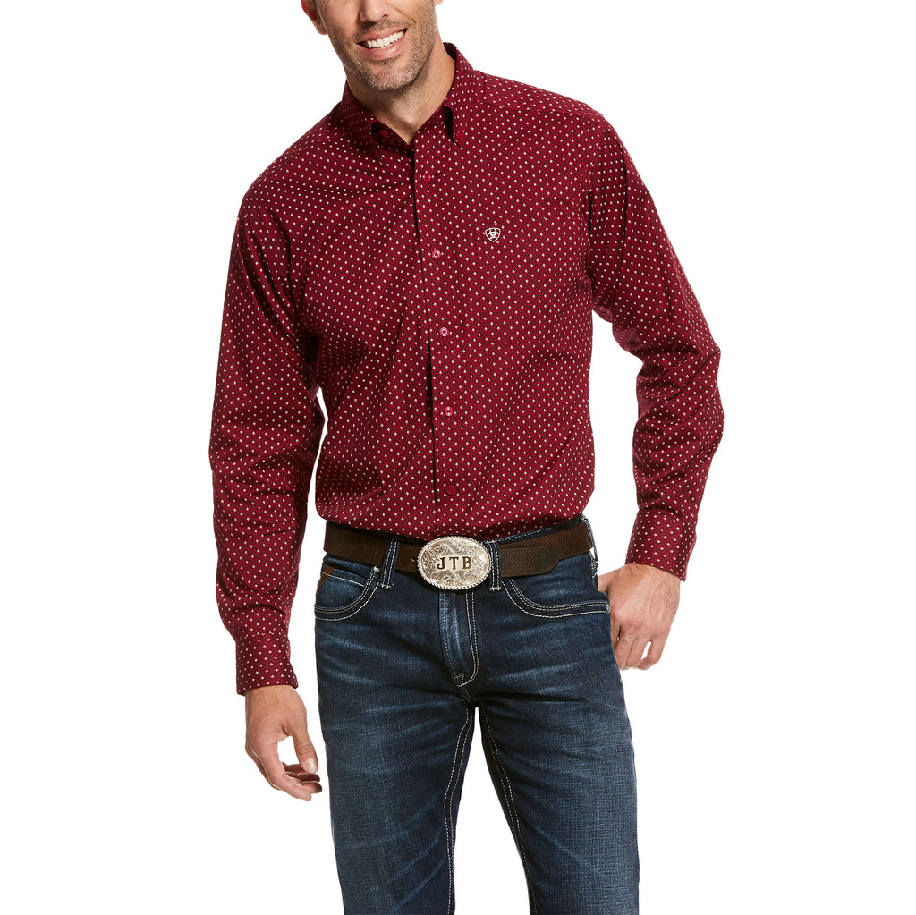 Men's Ariat Urbin Stretch Button Down Shirt #10028109