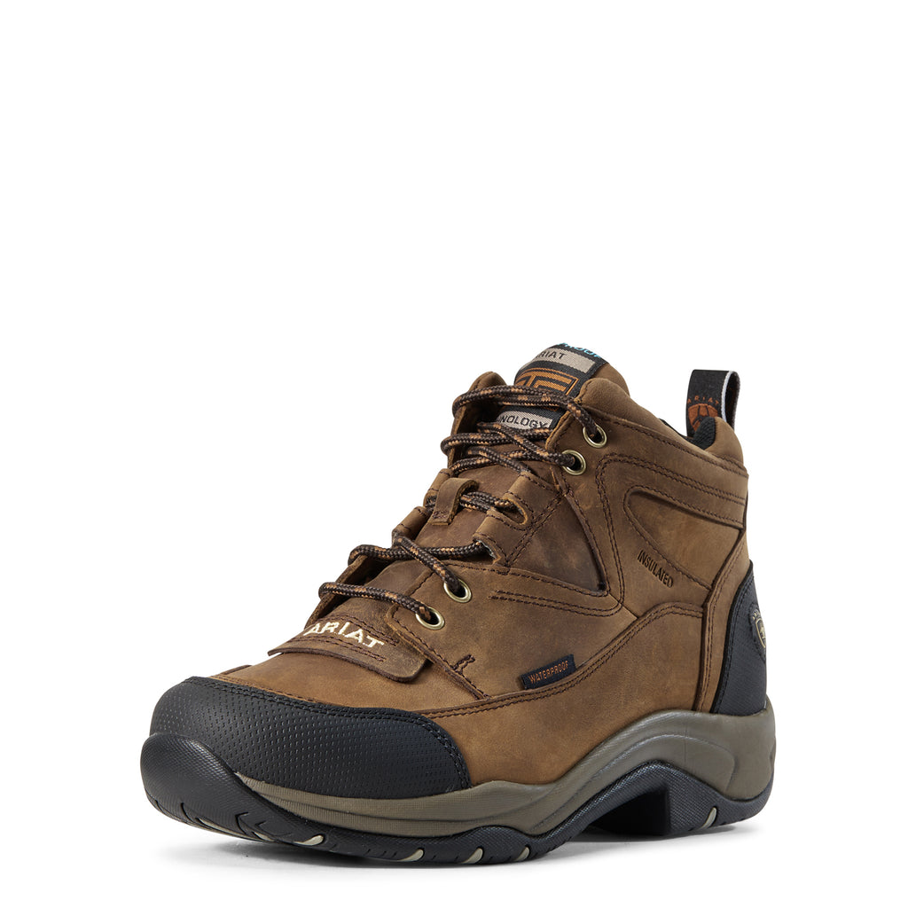 Women's Ariat Waterproof Insulated Terrain Shoe #10029503