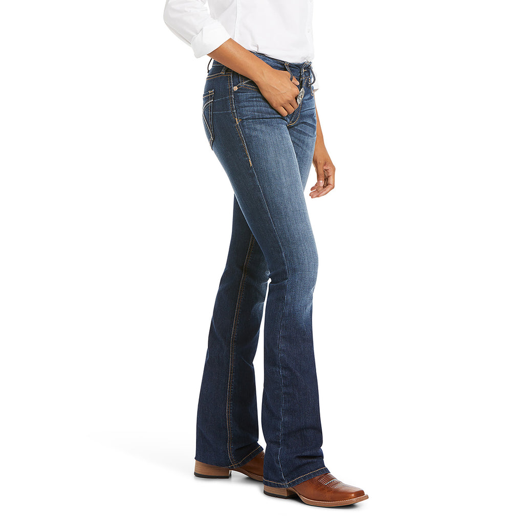 Women's Ariat R.E.A.L. Perfect Rise Stretch Rosa Boot Cut Jean #10027713