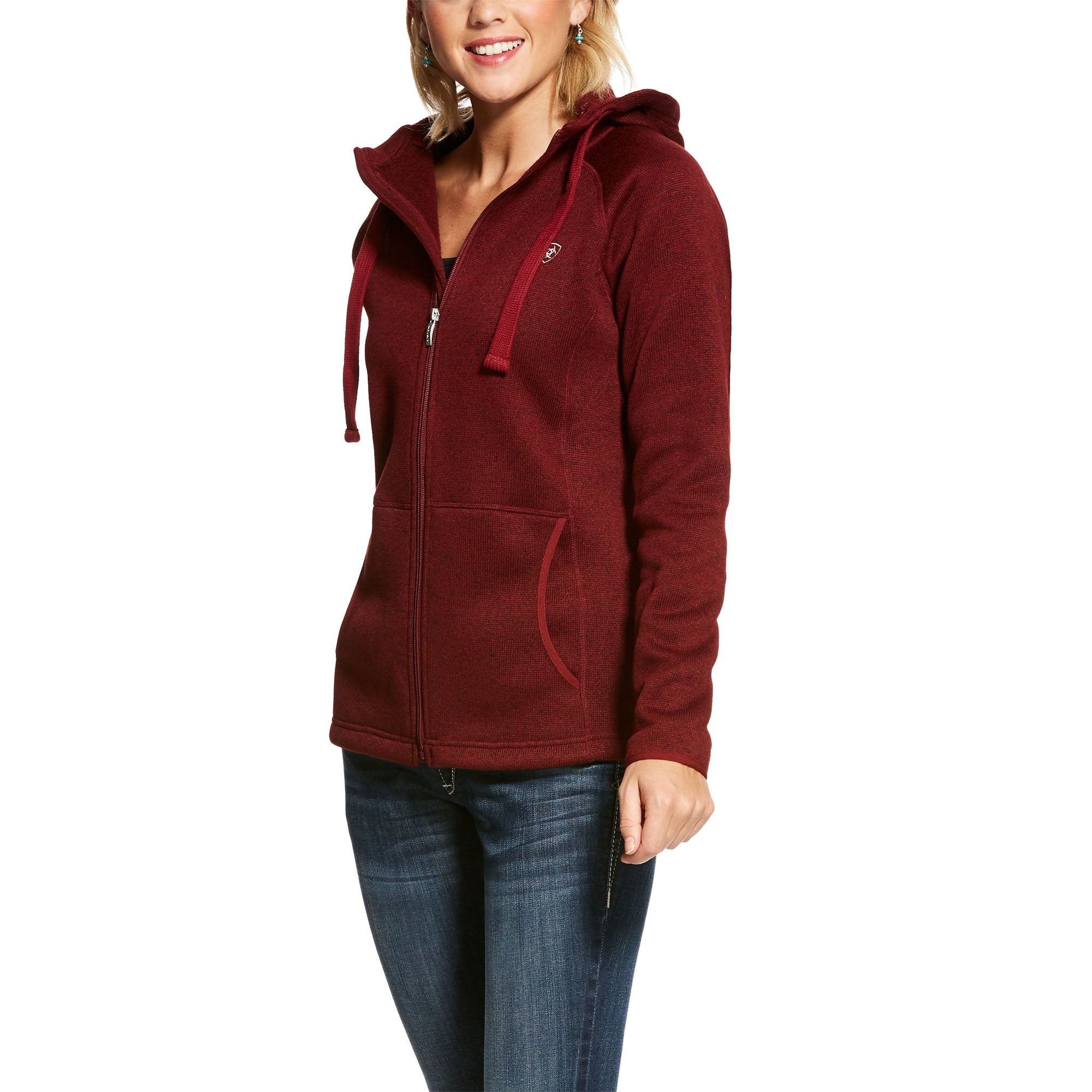 Women's Ariat Granby Full Zip Hoodie #10028063