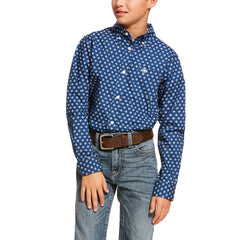 Boy's Ariat Damon Button Down Shirt #10028789