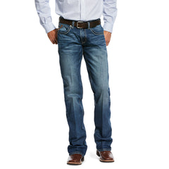 Men's Ariat M5 Slim Stretch Ellison Boot Cut Jean #10032320