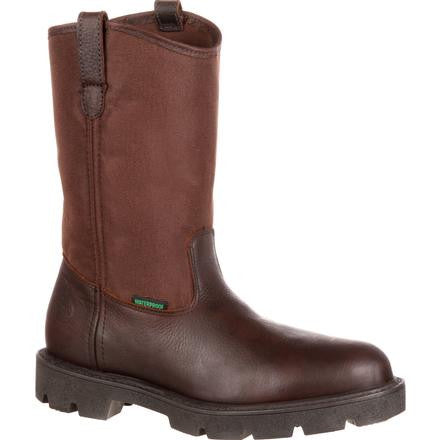 Men's Georgia Homeland Waterproof Wellington Work Boot #G113