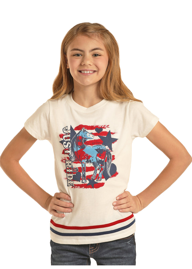 Girl's Rock & Roll Cowgirl T-Shirt #G3T5784