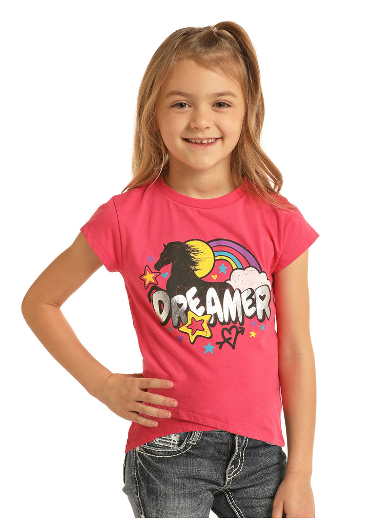 Girl's Rock & Roll Cowgirl T-Shirt #G3T5787