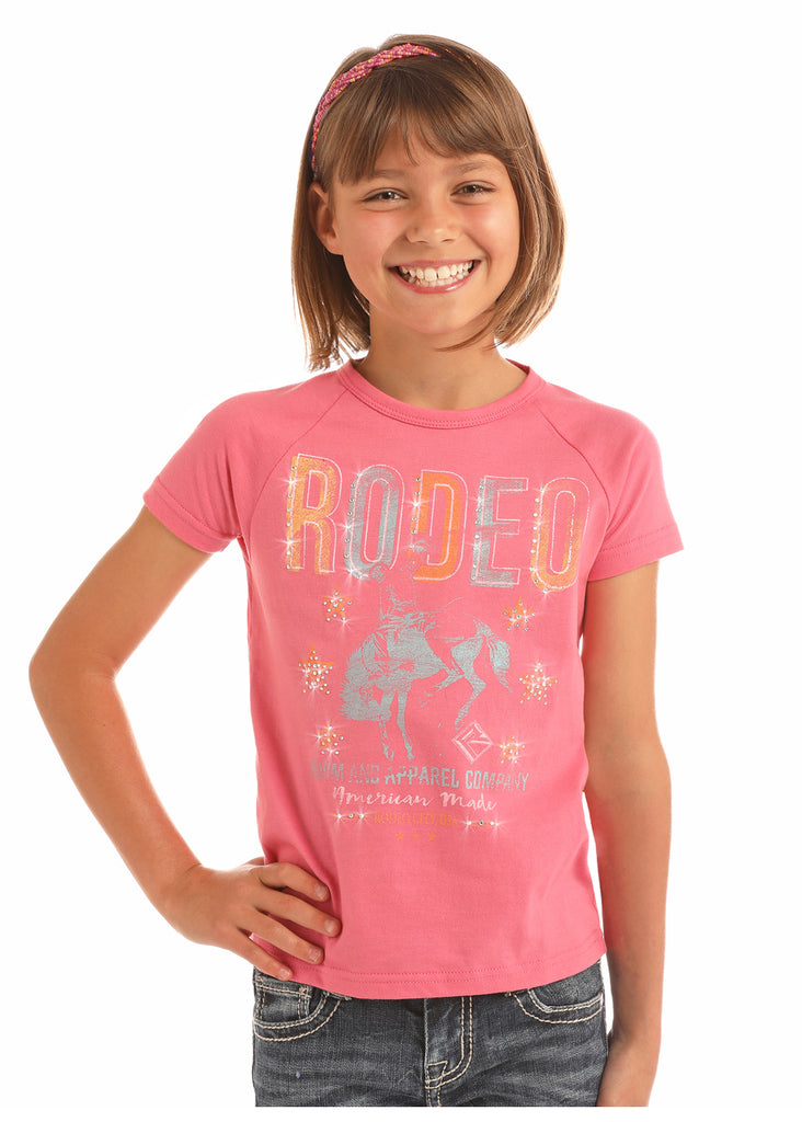 Girl's Rock & Roll Cowgirl T-Shirt #G3T9184
