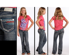 Girl's Rock & Roll Cowgirl Jean #G5-7383-C