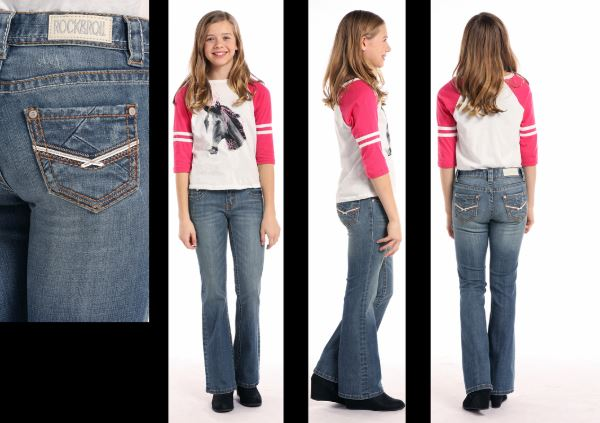 Girl's Rock & Roll Cowgirl Jean #G5-7689