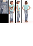 Girl's Rock & Roll Denim Boot Cut Jean #G5-9228