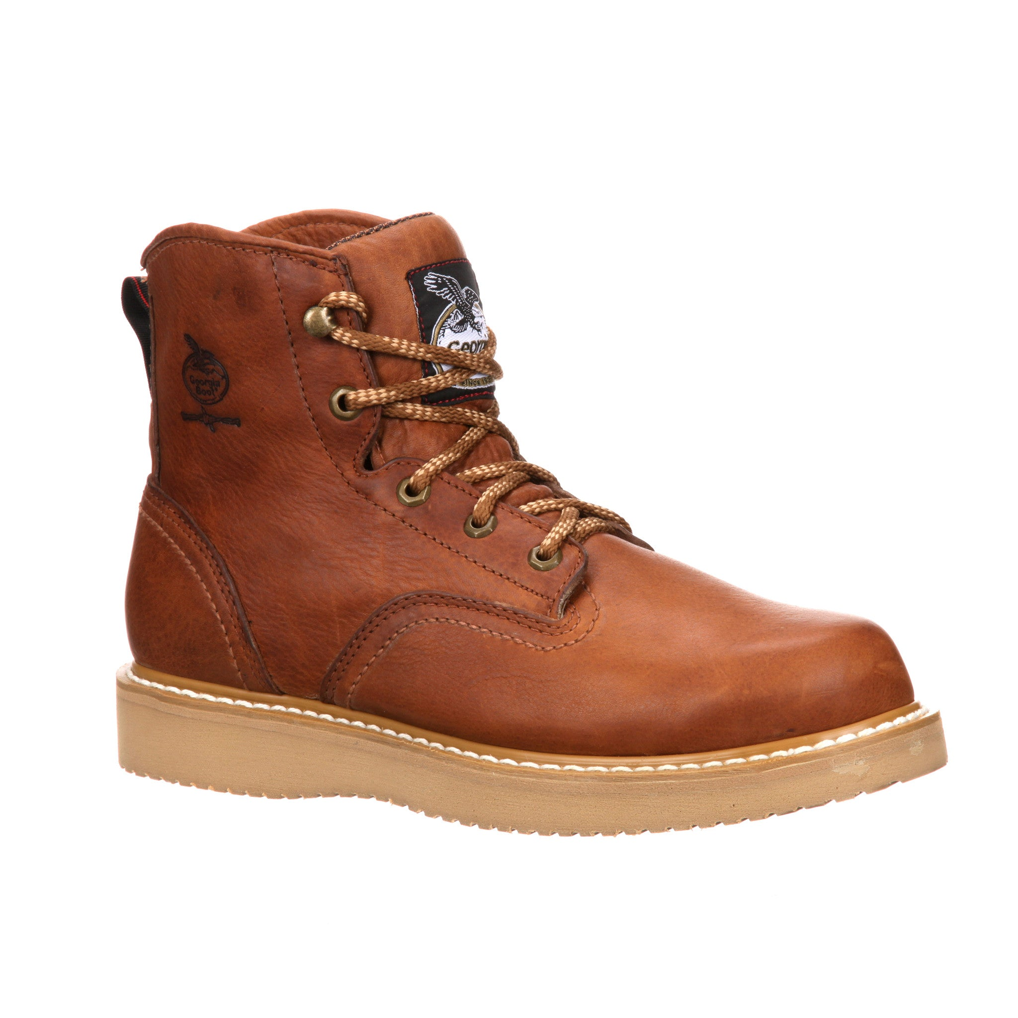 Men's Georgia Wedge Steel Toe Work Boot #G6342