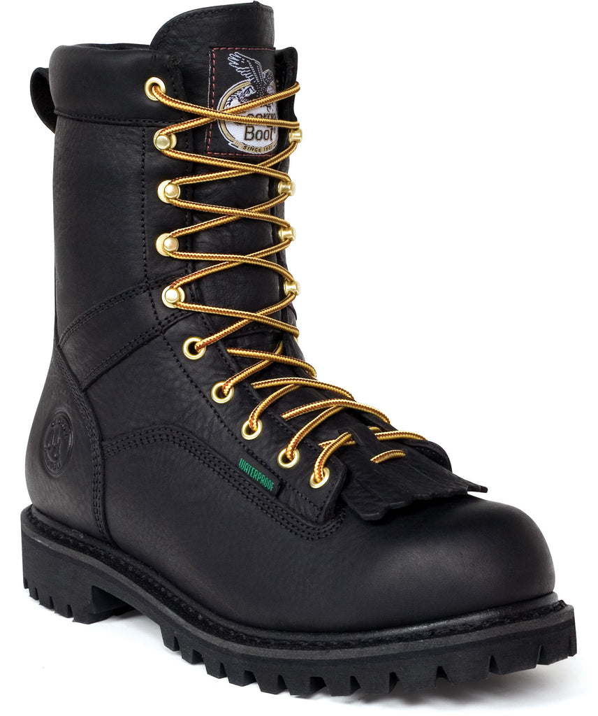 Men's Georgia Waterproof Lace-to-Toe Work Boot #G8010