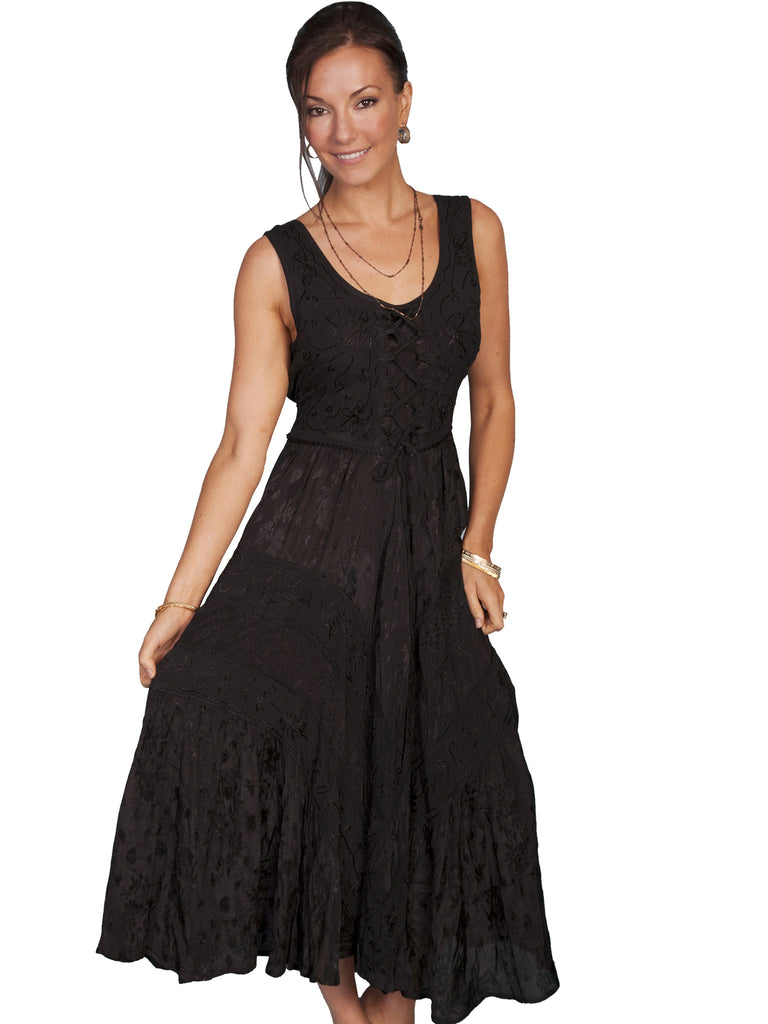 Women's Honey Creek by Scully Dress #HC118BLK