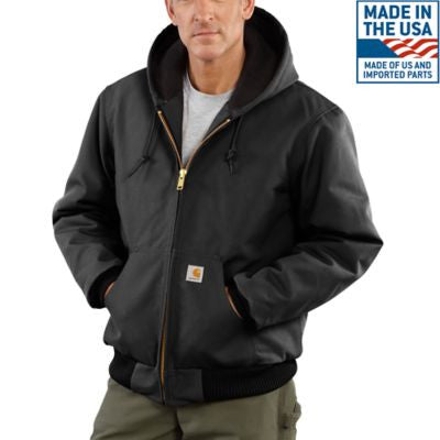 Men's Carhartt Duck Active Jacket #J140BLK