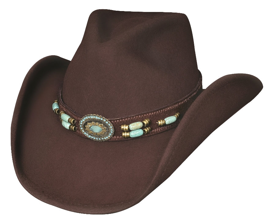 Bullhide Jewel of the West Wool Hat #0504CH