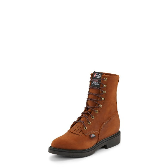 ea1d06a6ad7 Men's Justin Lace-Up Conductor Work Boot #760-C