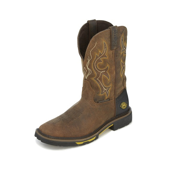 Men's Justin Waterproof Hybred Work Boot #WK4624