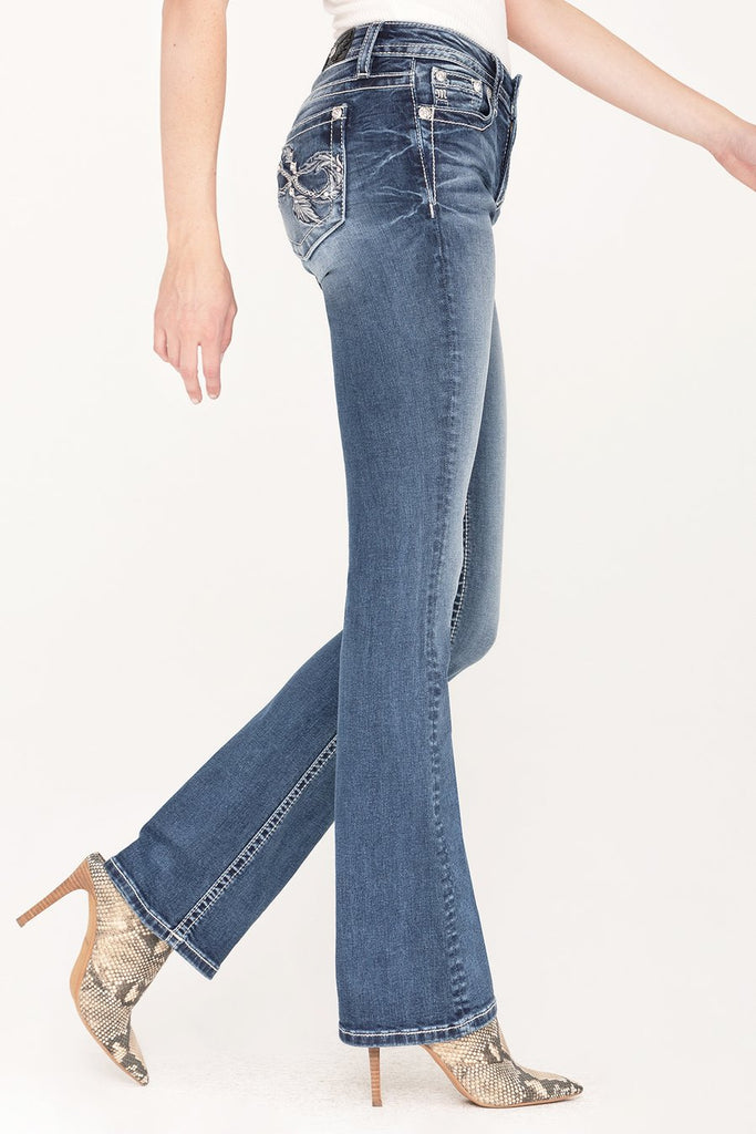 Women's Miss Me Infinite Life Boot Cut Jean #M3666B