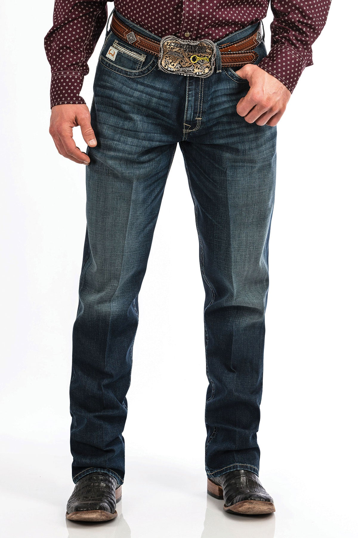 Men's Cinch Loose Fit Performance Sawyer Jean #MB67434001IND