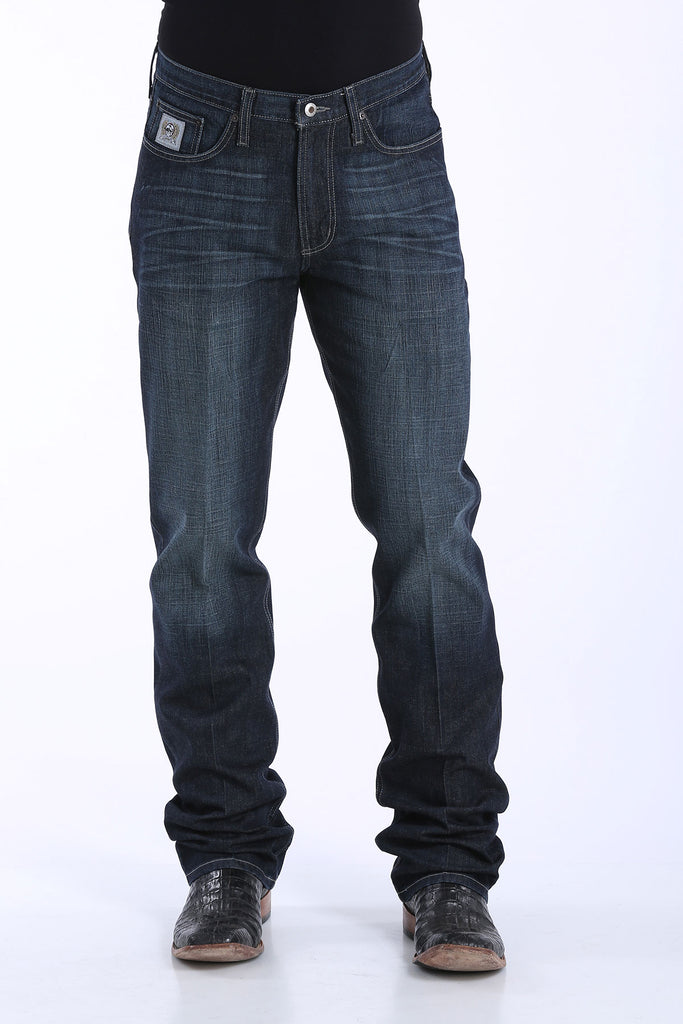 Men's Cinch Silver Label Slim Fit Arena Flex Jean #MB98034007IND