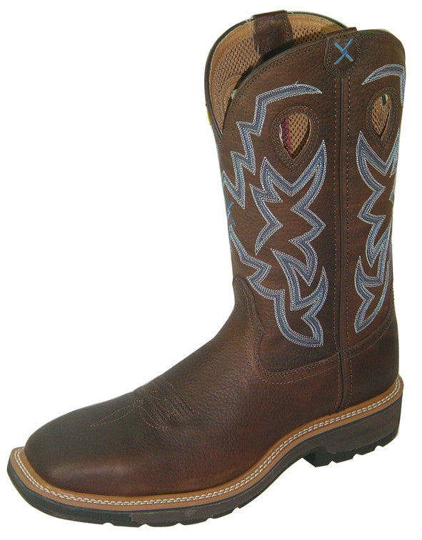 Men's Twisted X Lite Cowboy Work Boot #MLCW003