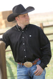 Men's Cinch Button Down Shirt #MT10320083BLK