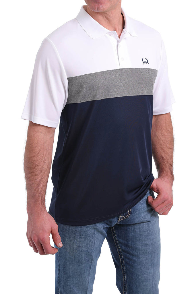 Men's Cinch Arenaflex Polo #MTK1861001MUL
