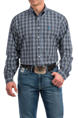 Men's Cinch Button Down Shirt #MTW1104764NAV