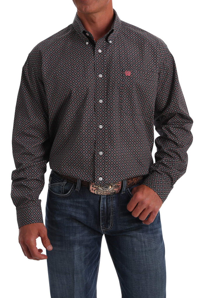 Men's Cinch Button Down Shirt #MTW1105055MUL