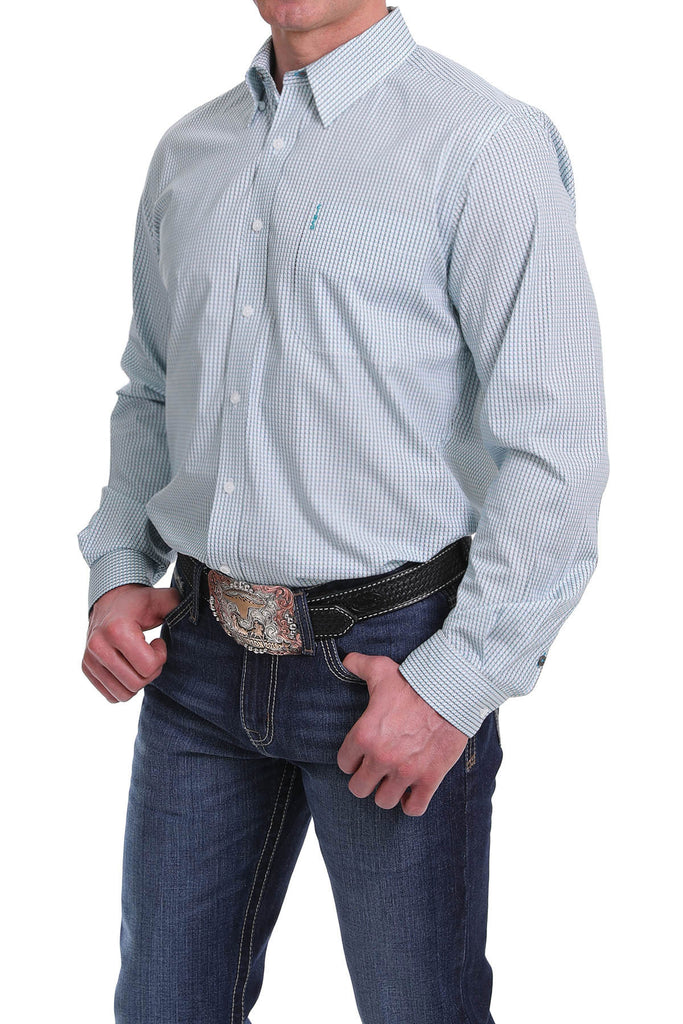 Men's Cinch Button Down Shirt #MTW1343113BLU