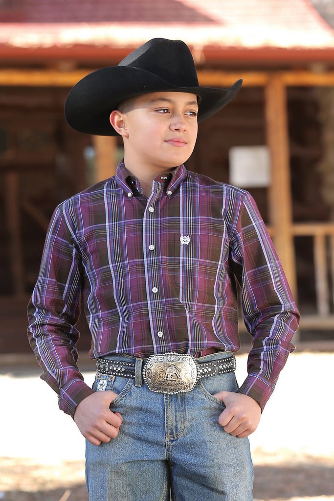 Boy's Cinch Button Down Shirt #MTW7060148