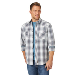 Men's Wrangler Retro Snap Front Shirt #MVR526X