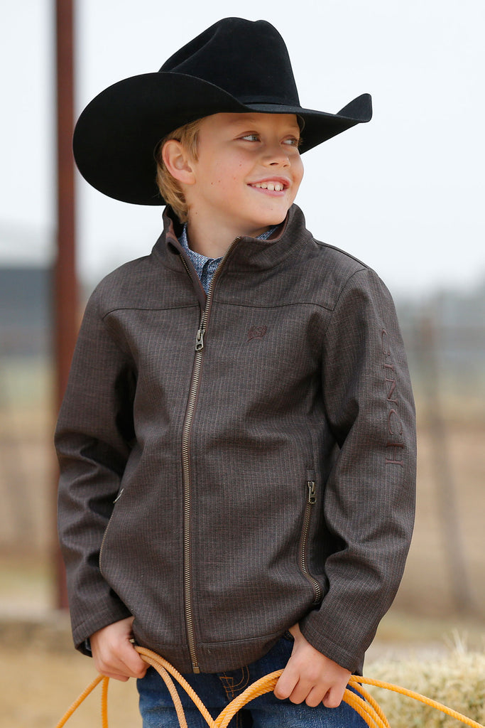 Boy's Cinch Bonded Jacket #MWJ7530002BRN