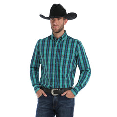 Men's Wrangler Performance Button Down Shirt #MTP112M-C