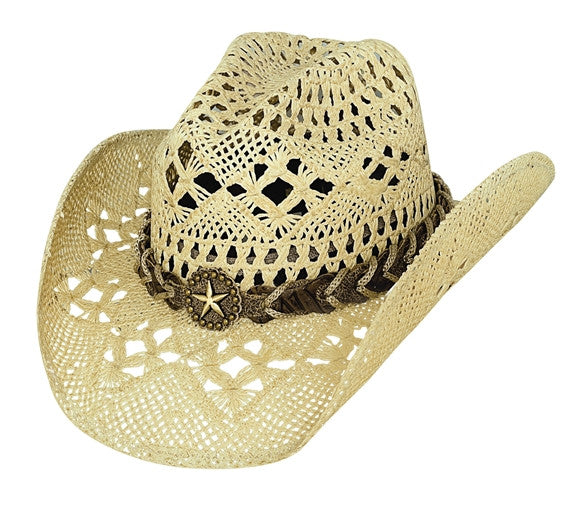 Bullhide Naughty Girl Straw Hat #2649NAT