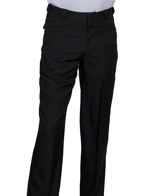 Men's Scully Dress Pant #P-859BLK