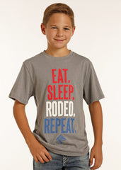 Boy's Rock & Roll Cowboy T-Shirt #P3T2171